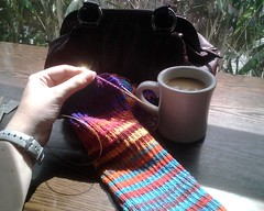 Drinking and Knitting, Caffeine Edition