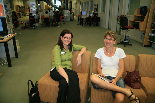 Karen Conway with Kay Pisel