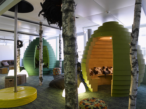 "Google Office ""Cubicles"""