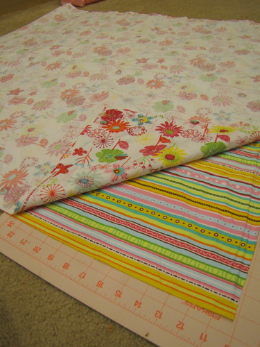 How To Make Receiving Blankets and Burp Cloths momspark.net
