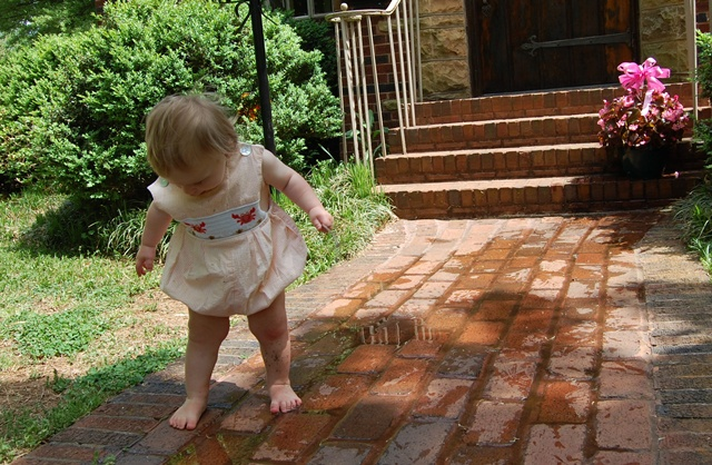Puddle Playing