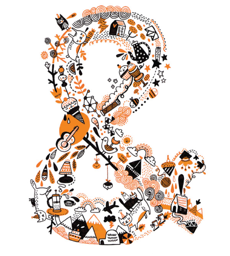 Ampersand by Gemma Correll