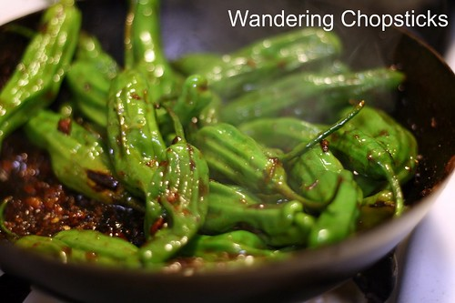 Shisito Peppers with Chinese XO Sauce 9