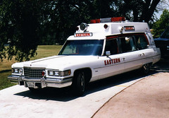 Eastern Ambulance 8, Lincoln, Nebraska, 1976 Superior on Cadillac chassis (Dr. Mo) Tags: pcs cadillac ambulance medicine pontiac bls ems emt lincolnnebraska firstaid hightop emergencymedicine staroflife ambulancedriver deathcare funeralcustoms professionalcarsociety easternambulanceservice roperandsons scenesafety