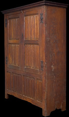 Tudor linenfold press cupboard (Marhamchurch Antiques) Tags: tudor press cupboard linenfold