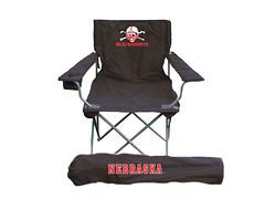 Nebraska Blackshirts TailGate Folding Camping Chair