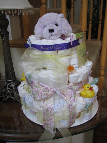 Diaper Cake from Candace