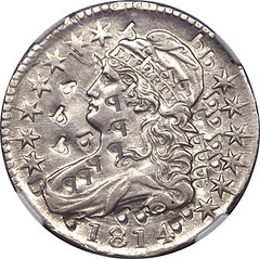 1814 Platina Pattern obverse