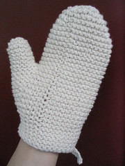 Knit Bath Mitt