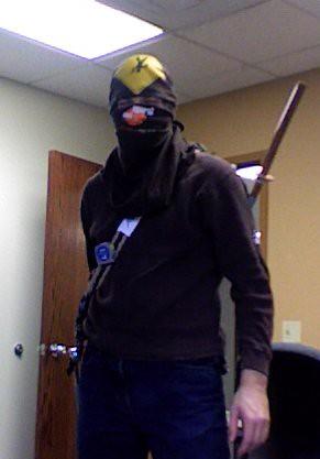 My tactical ninja gear