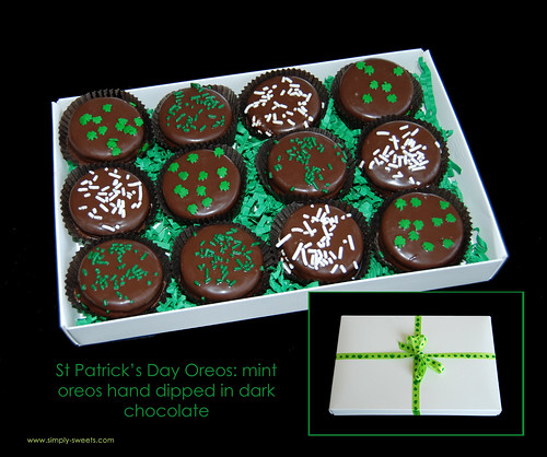 St Pattys Day Oreos