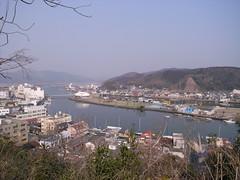 日和山より