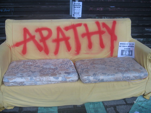 Apathy Couch from close away