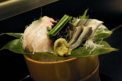 Kohada & Kanpachi Sashimi - Ikko Japanese Restaurant