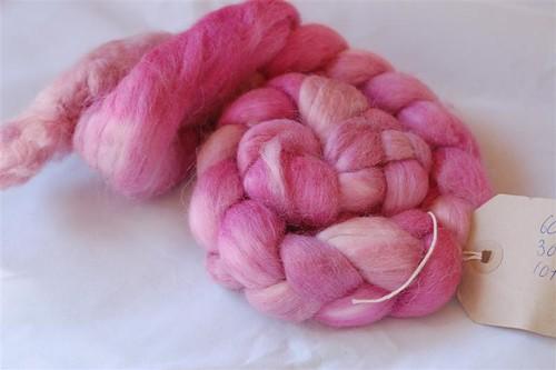 Cashmere alpaca silk roving