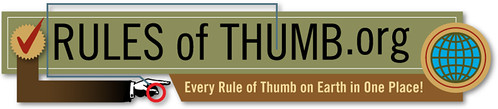 rules of thumb.org