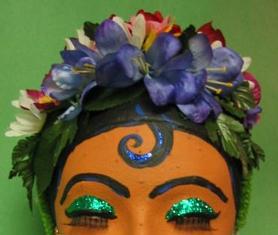 Frida-inspired Flower Crown