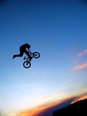 sunset BMX big air (tommycorra) Tags: photography passion bigair abigfave goldmedalwinner platinumphoto anawesomeshot colorphotoaward diamondclassphotographer flickrdiamond goldstaraward airbmxjumpsunset
