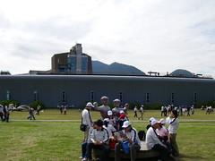 八里十三行博物館之陽光廣場
