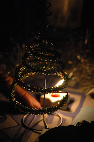 Candle & Christmas decorations (by Louis Rossouw)