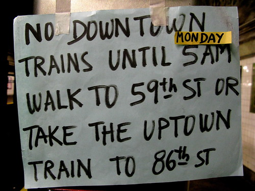 No Downtown Trains