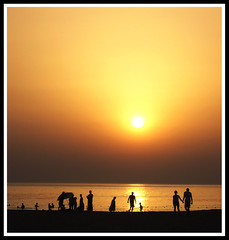 Sen giderken (zcan Yerli) Tags: sunset sun beach turkey moments winner ava ile zcan mywinners diamondclassphotographer flickrlovers zcanyerli