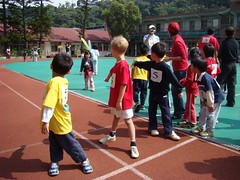 Jonas' sports day relay