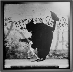 Puma Urban Art Exhibition (James Ng Photography) Tags: travel vacation holiday streetart southamerica argentina festival graffiti design buenosaires graphic sony urbanart mayo primer puma 2008 grafico diseno a700 jimsnapper alexandreorion