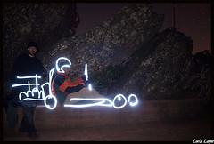 Junior no kart (Luiz Lage) Tags: light painting da serra passeio piedade fotogrfico fotoclubebh