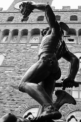 Perseus with the Head of Medusa (eftimov-schenk-schwartz) Tags: travel bw italy sculpture florence italia firenze loggiadeilanzi benvenutocellini 10faves perseuswiththeheadofmedusa anawesomeshot