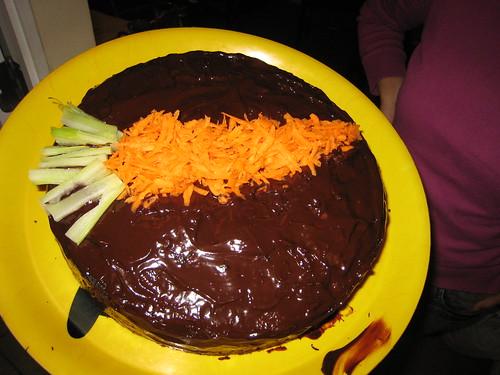 Gateau aux Carottes et Chocolat