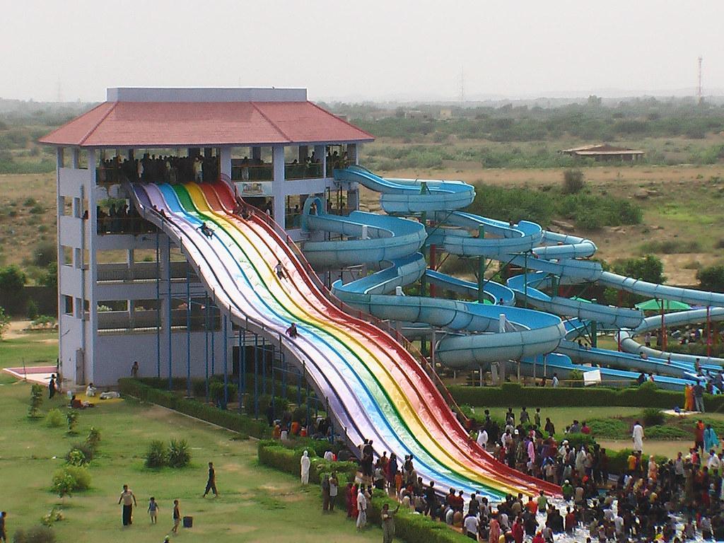 City Karachi Fiesta Water Park Tafreeh Mela