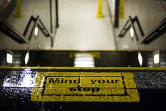 Mind your step (JoelDC) Tags: wet stairs grunge sydney australia step trainstation cbd mindyourstep