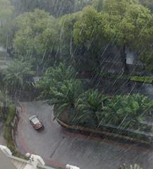 First (SaudiSoul) Tags: rain hotel indo jak