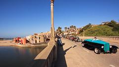 Capitola Esplanade (Natural Light Seeker) Tags: california ca usa santacruz cars beach sc metal digital canon sand downtown wideangle icon noflash gas bayarea hotrod streetphoto norcal eastside westcoast canondslr capitola oldskool 1022 30d beachtravel scphoto