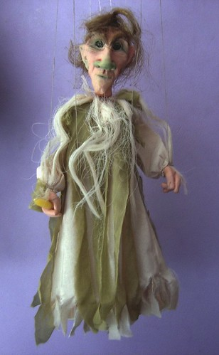 Friendly Ghost Marionette