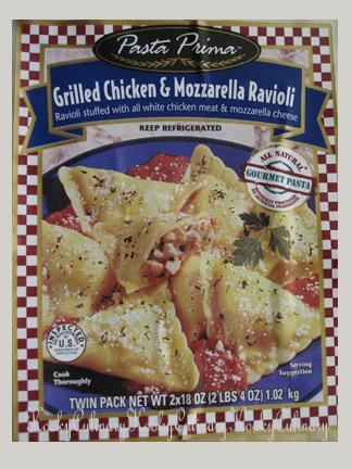 Chicken & Mozzarella Ravioli