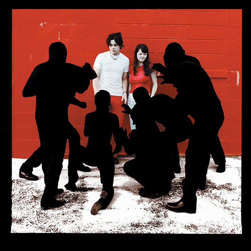 Enhanced album art for The White Stripes' White Blood Cells