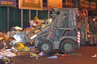 italian army takes over Naples waste management
