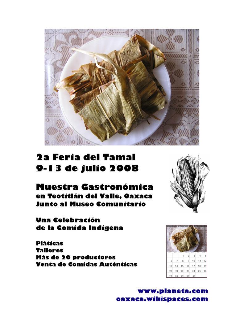 Tamale Fair Poster 2008