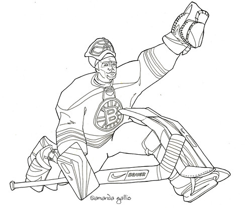 boston bruins symbol coloring pages - photo#9