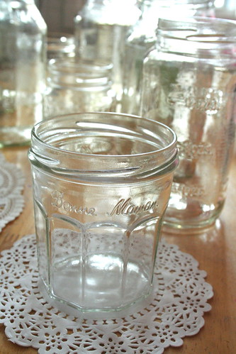 Lacy Jars (diy)