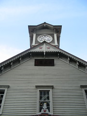 The clock tower - oldest building in Sapporo