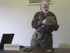 J. Glenn Evans reads a story