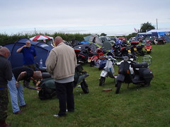 campsite (mark & anne's photos) Tags: vespa rally lambretta scooters custom scooterrally bretta ronniebiggs