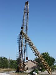 Forgotten Giant (Klearchos Kapoutsis) Tags: crane machine bulgaria   strumyani