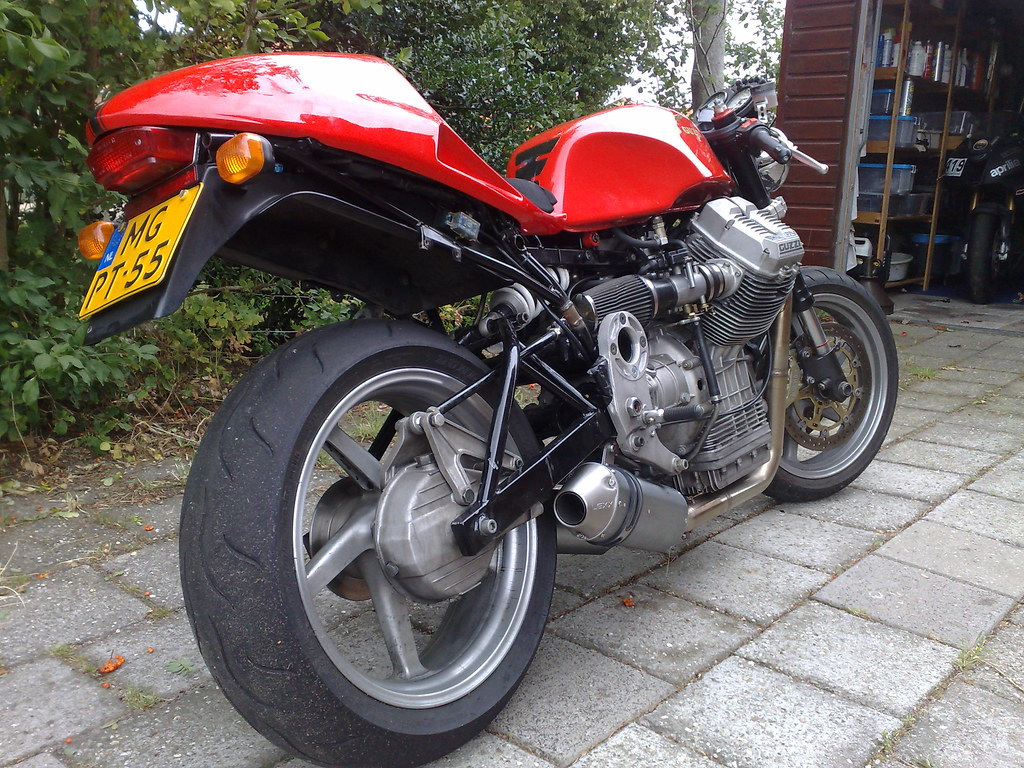 How would you Modernize an R100RS?