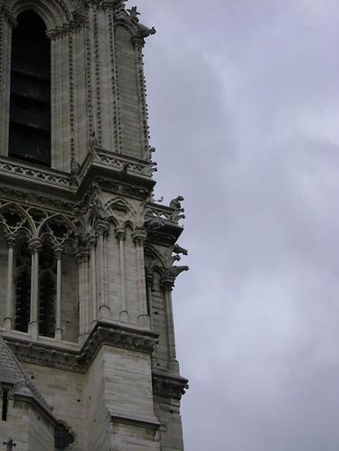 As gargulas de Notre Dame