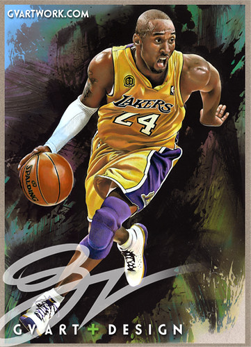 kobe bryant original artwork