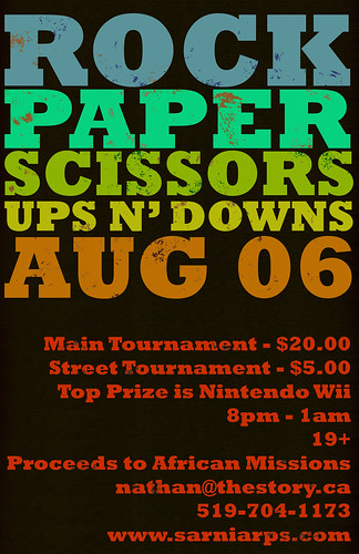 Sarnia Rock Paper Scissors